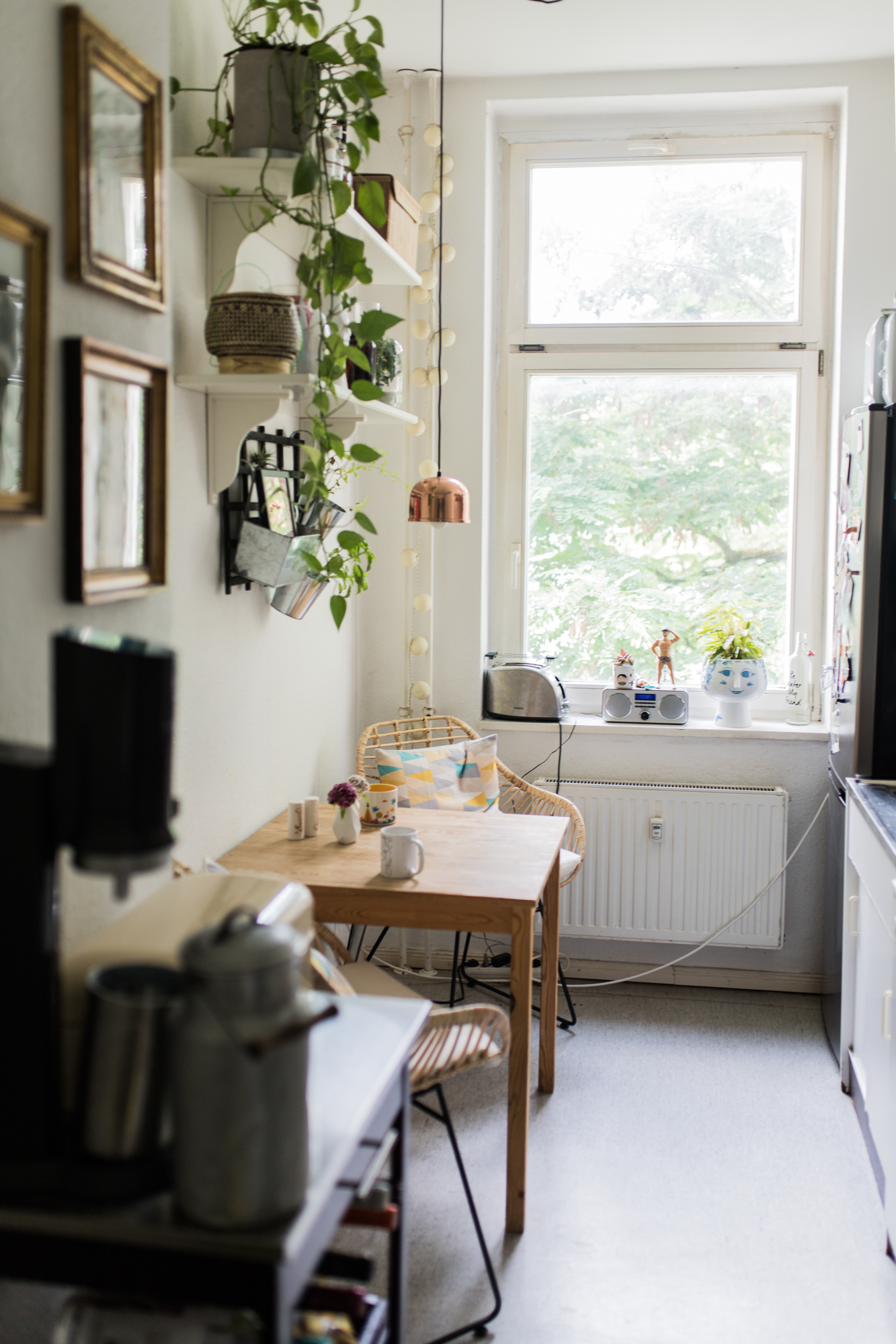 Küche Homestory Vreni Frost eclectic style