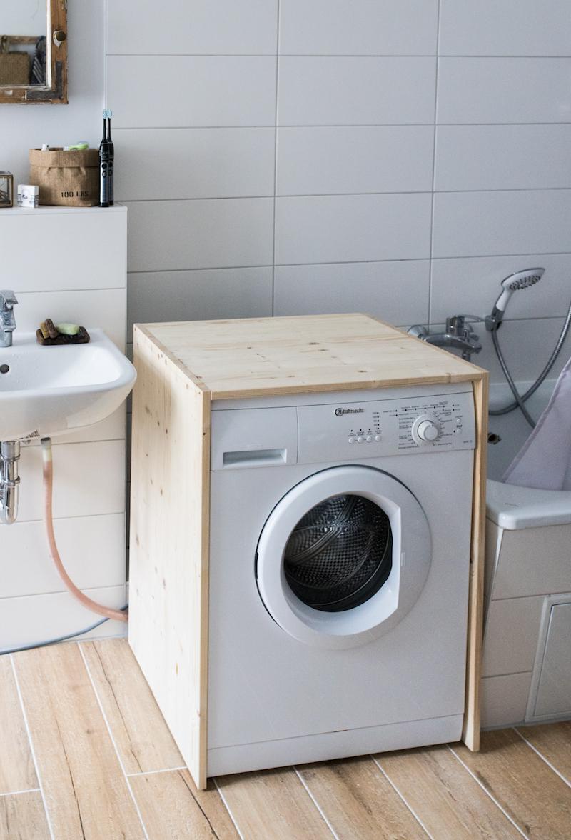 Diy Waschmaschinen Verkleidung Doitbutdoitnow