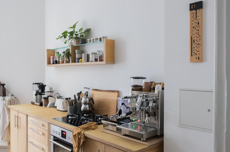 Extrem Die Altbau-Küche eine Küchenzeile aus Sperrholz (3 von 6 CD32