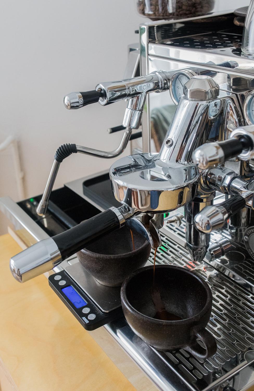 Espresso brühen Zuhause