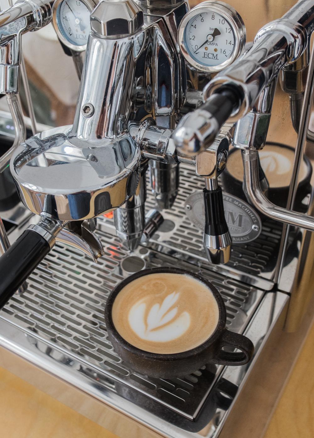 Home Barista Latte Art Cappuccino