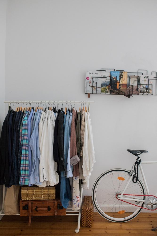 Kleiderstange Schlafzimmer Einrichtung