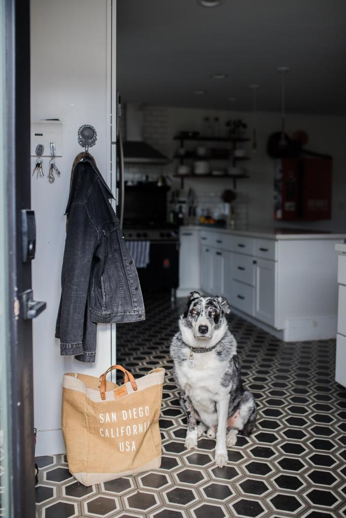 San Diego Home Tour Küche und Jasper