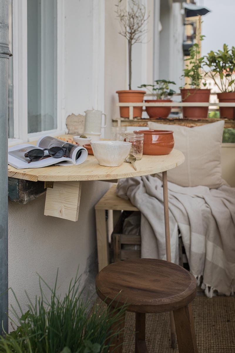 DIY Klapptisch für den Balkon