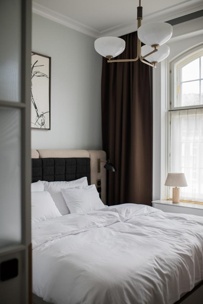 Villa Copenhagen Zimmer Bett