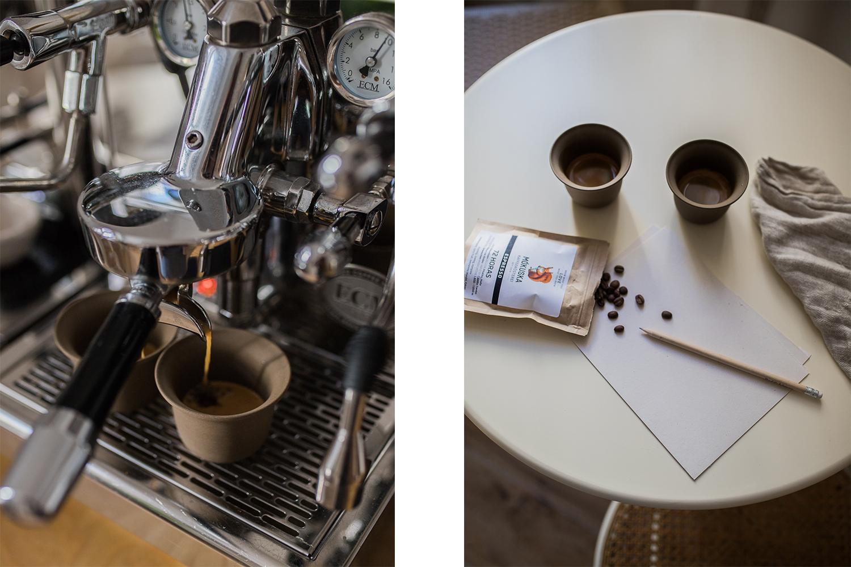 Kaffeekolumne mit durgol entkalken
