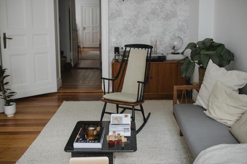 Wohnzimmer Schaukelstuhl Larsson Design